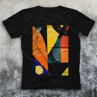 Collage Black Unisex T-Shirt