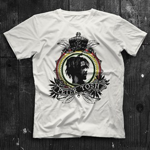 Peter Tosh White Unisex  T-Shirt - Tees - Shirts