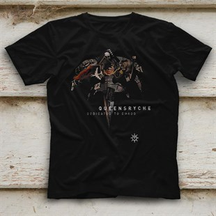 Queensryche Black Unisex  T-Shirt - Tees - Shirts