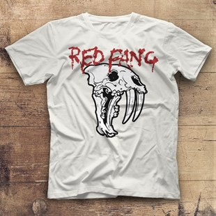 Red Fang White Unisex  T-Shirt - Tees - Shirts