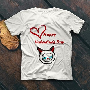 Valentines Day White Unisex  T-Shirt