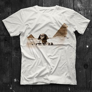 Sphinx White Unisex  T-Shirt