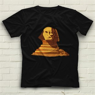 Sphinx Black Unisex  T-Shirt