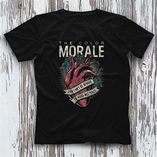 The Color Morale Black Unisex  T-Shirt - Tees - Shirts