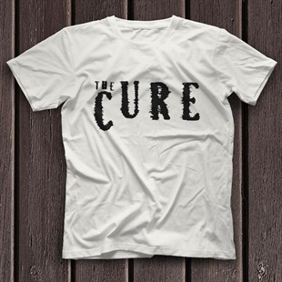 The Cure White Unisex  T-Shirt - Tees - Shirts