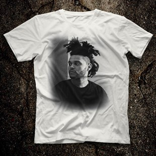 The Weeknd White Unisex  T-Shirt - Tees - Shirts
