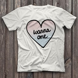 Wanna One K-Pop White Unisex  T-Shirt - Tees - Shirts
