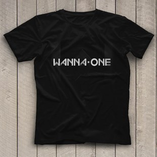 Wanna One K-Pop Black Unisex  T-Shirt - Tees - Shirts