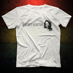 Whitney Houston White Unisex  T-Shirt - Tees - Shirts