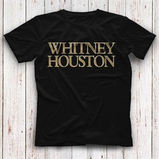 Whitney Houston Black Unisex  T-Shirt - Tees - Shirts