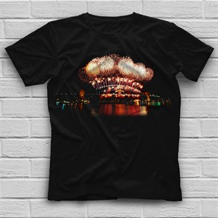 New Year Black Unisex  T-Shirt