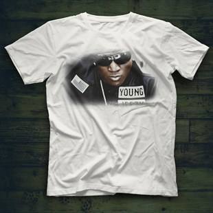 Young Jeezy White Unisex  T-Shirt - Tees